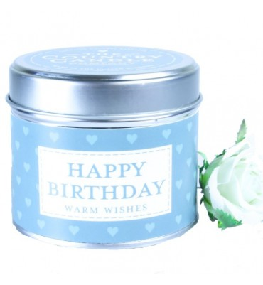 Happy Birthday Scented Candle