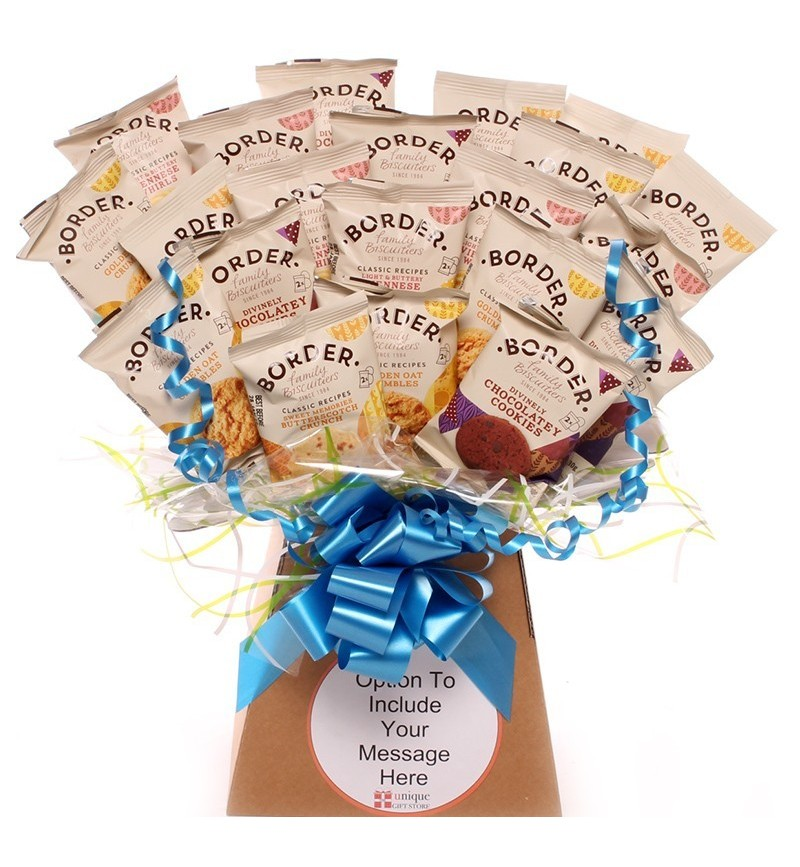 The Boarder Biscuit Bouquet In Blue