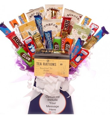 Tea Rations Biscuit Bouquet.