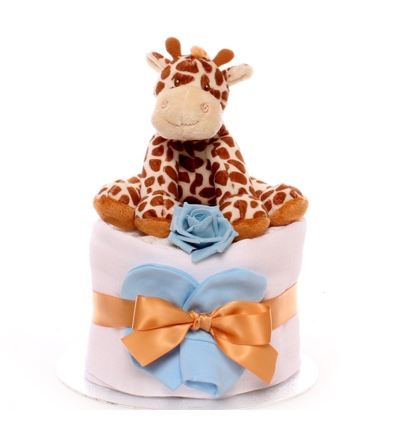 Giraffe Mini Nappy Cake