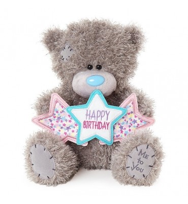Happy Birthday Me to You Bear with Stars