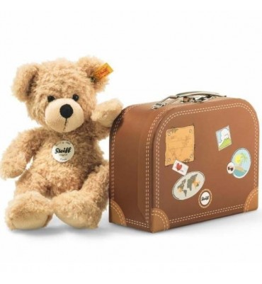 Steiff Fynn Teddy Bear in Suitcase 28cm