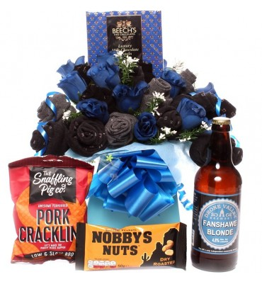 Sock Bouquet With Pub Classics