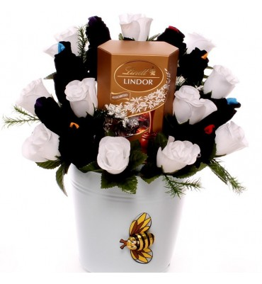 Lindor and Gents Sock Bouquet.