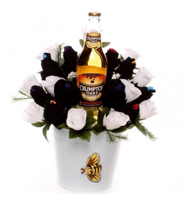 Cider and Sock Bouquet.