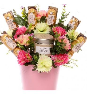 New Home Candle Gift Bouquet.