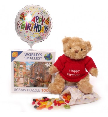 Birthday Teddy Gift Set.
