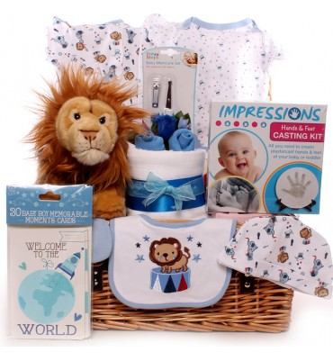 Circus Themed Baby Hamper.