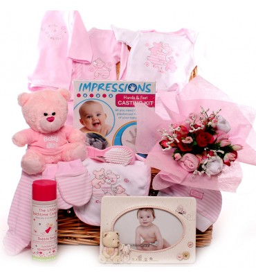 Cute and Cuddly Baby Hamper.