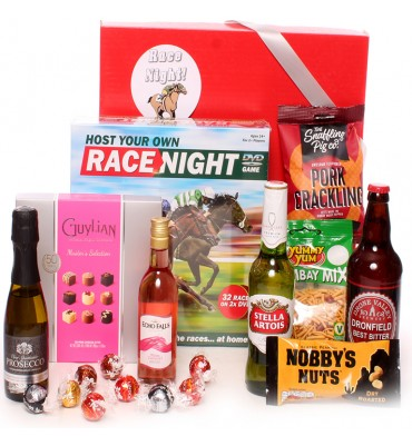 Race Night In Large Hamper.