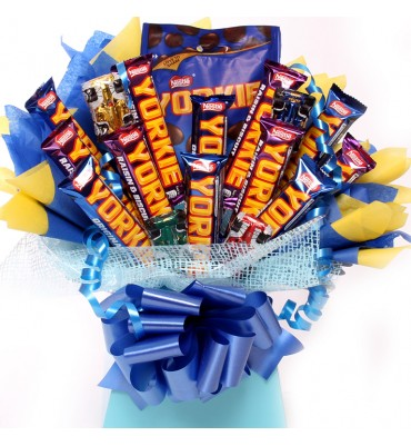 Chocolate Bouquet For Men.