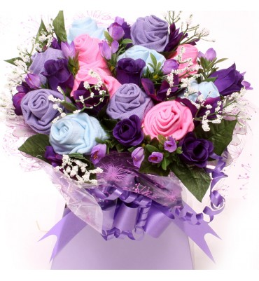 Gorgeous Ladies Sock Bouquet.