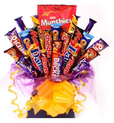 Munch Away Chocolate Bouquet