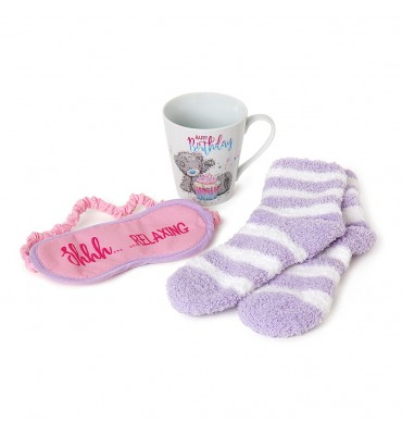 Mug, Socks & Eyemask Me to...