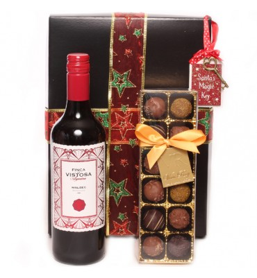 Christmas and Malbec Gift Box.