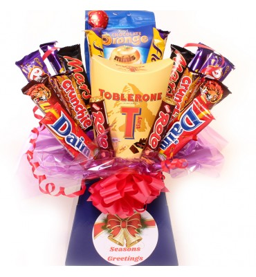Toblerone Chocolate Bouquet.