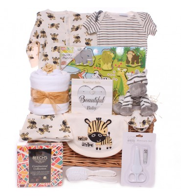 Zebra fun Hamper