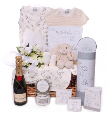 Steiff Rabbit Hamper with...