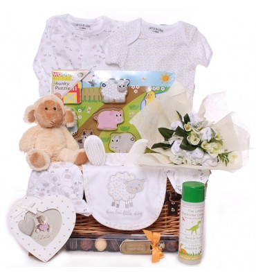 Sheep Neutral Baby Hamper