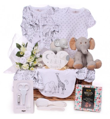 Elephant Neutral Hamper