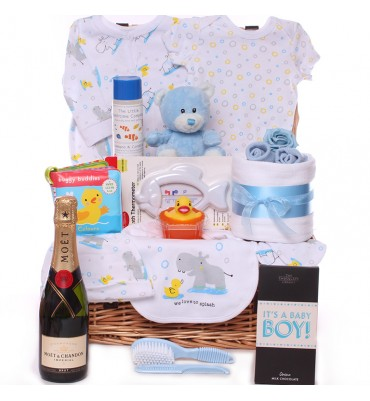 Duck and Hippo Hamper with...