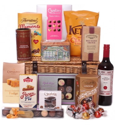 Fine Food Hamper With Red...