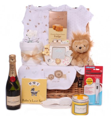 Lion Neutral Hamper with...
