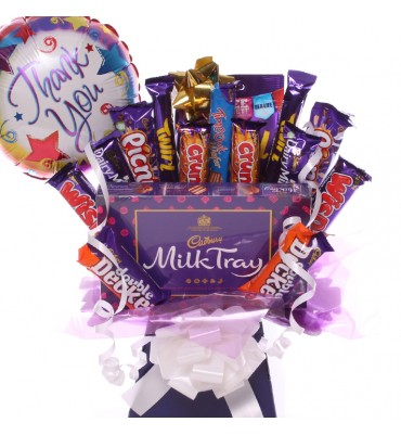 Thank you Milk Tray Bouquet