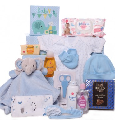 Baby Boy Gift Tower with...