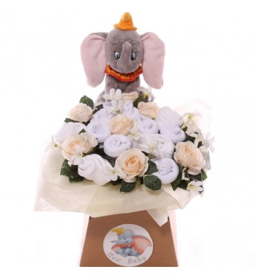 Neutral Dumbo Baby Bouquet