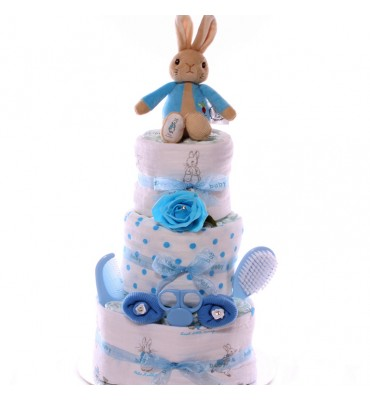 Peter Rabbit Nappy Cake...