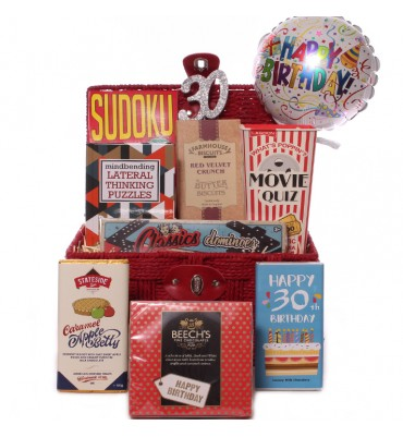 30th Birthday Games Gift set