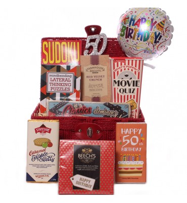 50th Birthday Games Gift Set