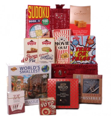Large Games and Treats Hamper