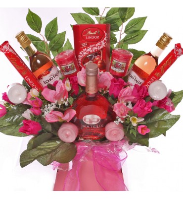 Rose Wine Yankee Candle...