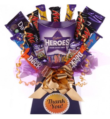 Thank You Heroes Bouquet -...