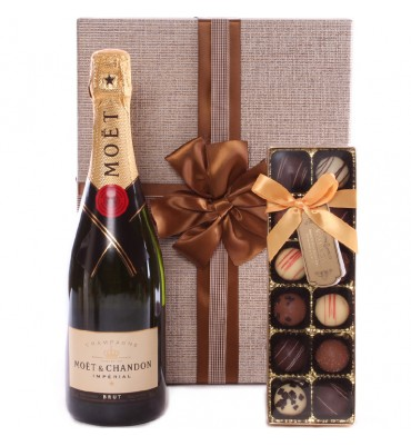 Gold Champagne and Truffles...