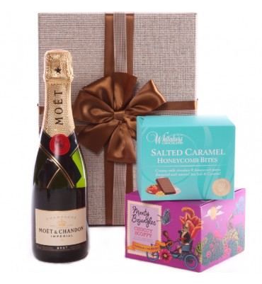 Medium Gold Moet Gift box