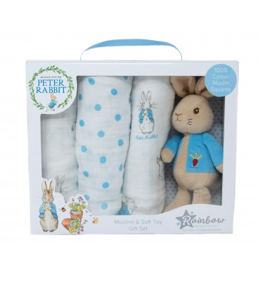 Peter Rabbit Soft Toy &...