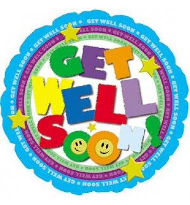 Get Well Circle Air Filled...