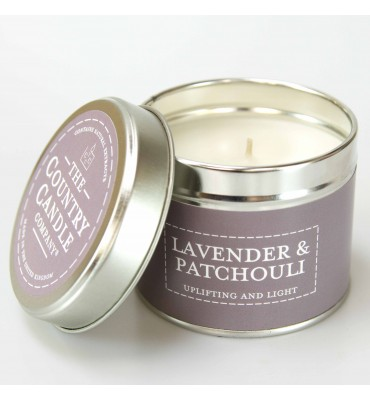 Lavender and Patchouli...