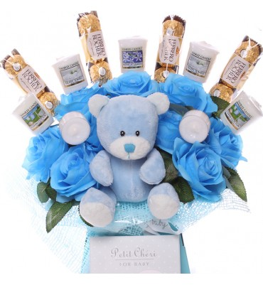 Baby Boy Yankee Candle and...