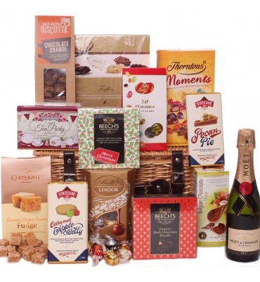 Christmas Joy Hamper with...