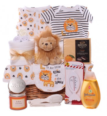 King of the Jungle Baby Hamper