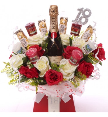 18th Champagne, Roses,...