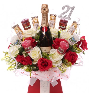 21st Champagen, Roses,...