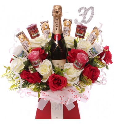 30th Champagne, Roses,...