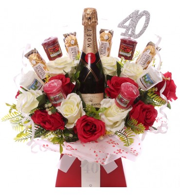 40th Champagne, Roses,...