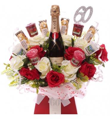 60th Champagne, Roses,...