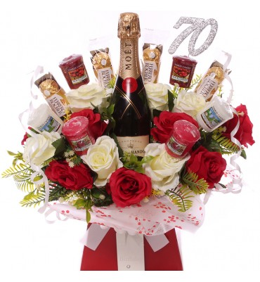 70th Champagne, Roses,...